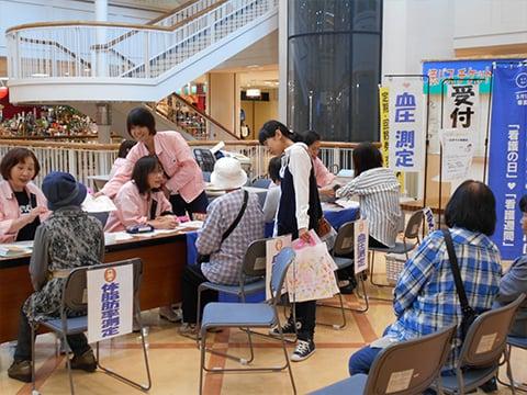 徳島支部Ⅲ 一日まちの保健室