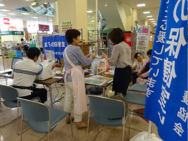 徳島支部Ⅱ 一日まちの保健室 出前講座